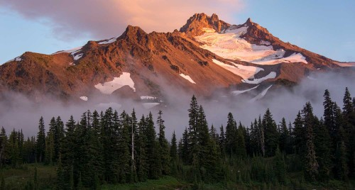 Photo of Mt. Jefferson from Jefferson Park, used by nonprofit Oregon Wild in print and email promotional materials