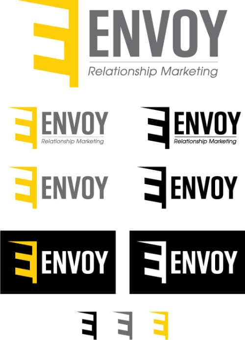 Variations on Envoy's logo