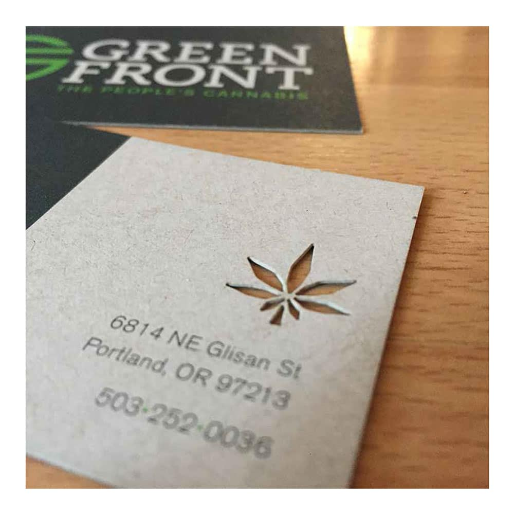 Green Front - Ink Stained Creative - Branding | Marketing ...